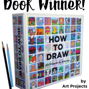 """How to Draw"" Book Giveaway Winner!"