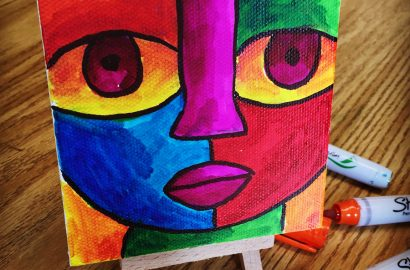 Color Mixing with Sharpies
