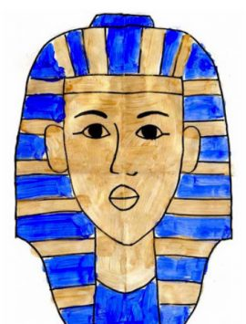 Painting King Tut