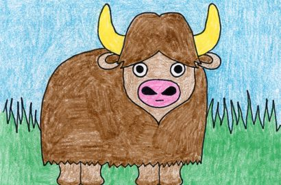 Draw a Water Buffalo