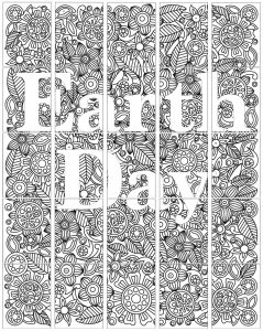 Earth Day Zentangle collaborative