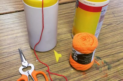 Yarn Dispenser Hack