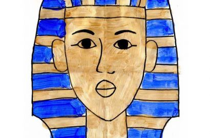 How To Draw King Tut
