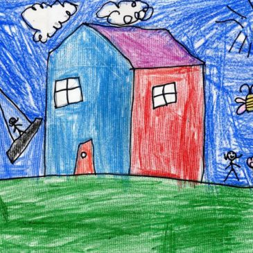 Draw a Simple House
