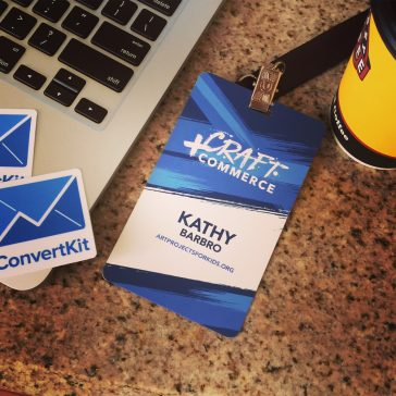ConvertKit Craft + Commerce Conference