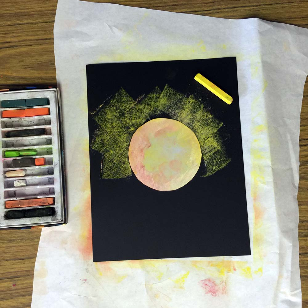 Solar Eclipse 2017 Art Art Projects For Kids