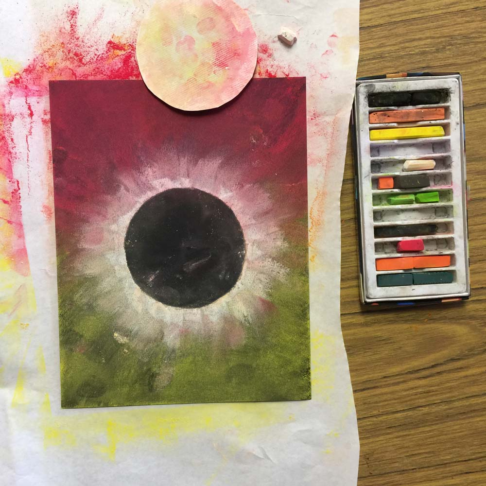 Solar eclipse 2017 art art projects for kids for Solar projects for kids