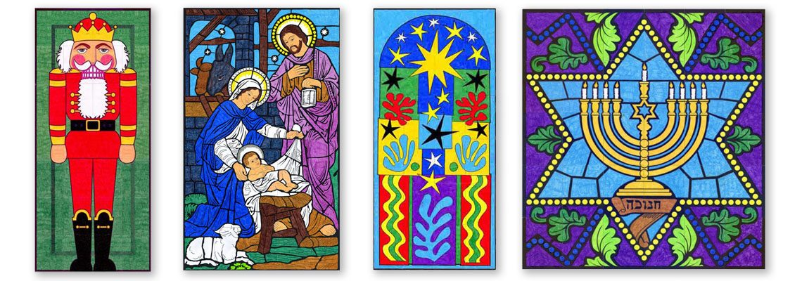 PDF Shop: Holiday Themed Murals
