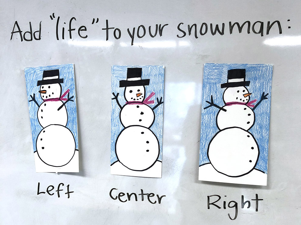 Easy Snowman Drawing