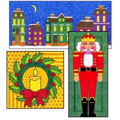Mini Christmas Murals 2