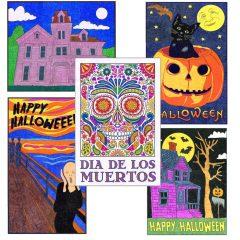Halloween Mini Mural Set