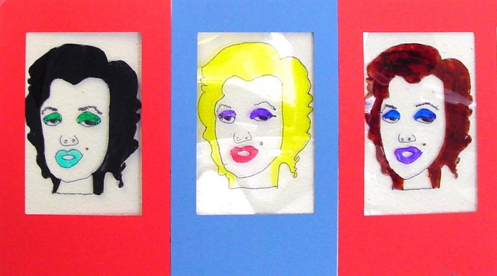 Connu Pop Art Portraits - Art Projects for Kids BC34