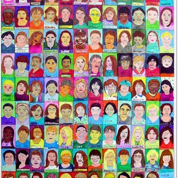Class Self-Portrait Collage