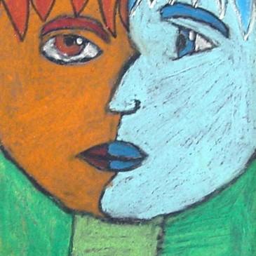 Picasso Pastel Portraits