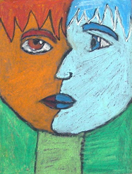 Picasso Pastel Portraits Art Projects For Kids