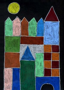 Paul Klee Castle and Sun