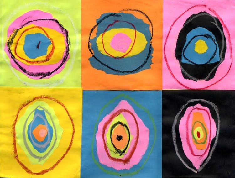 kandinsky circles for kids
