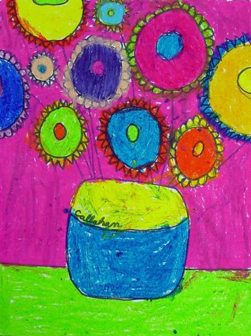 Van Gogh Sunflower Drawing