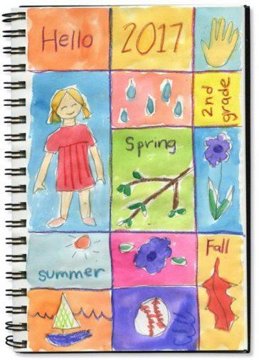 Art Journaling Seasons