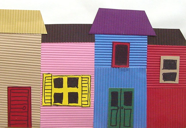 La Boca Houses Of Argentina 183 Art Projects For Kids