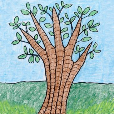 Draw a Tree with Your Hand