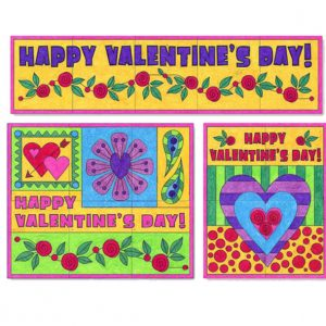 Mini Valentine's Day Murals