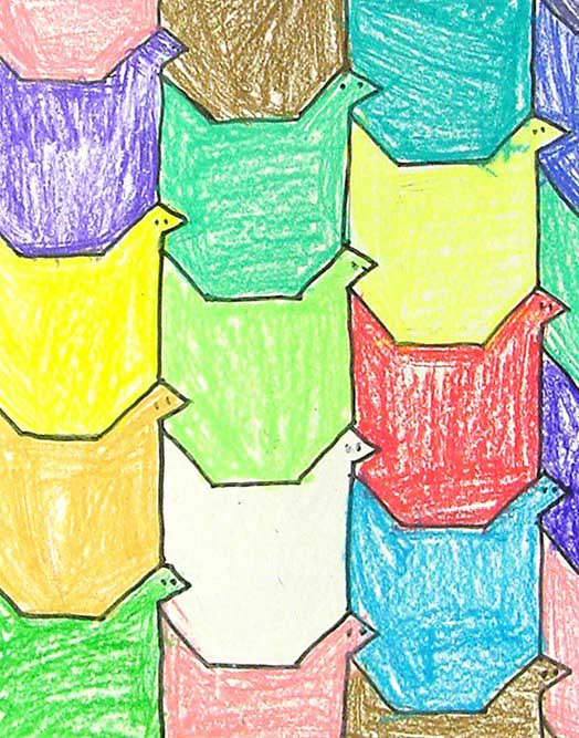 Bird-Tessellation-feature  Th Grade Halloween Art Projects on snowflake art project 4th grade, pinterest crafts 4th grade, halloween art projects high school, paper mache projects 4th grade, halloween art projects middle school, halloween art projects shape, halloween art activities, halloween art for toddlers, pumpkin art for 4th grade, watercolor for 5th grade, christmas projects 4th grade, halloween art projects for preschoolers, halloween lessons for 5th grade,
