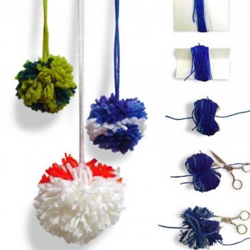 How to Make Pom Pom Balls