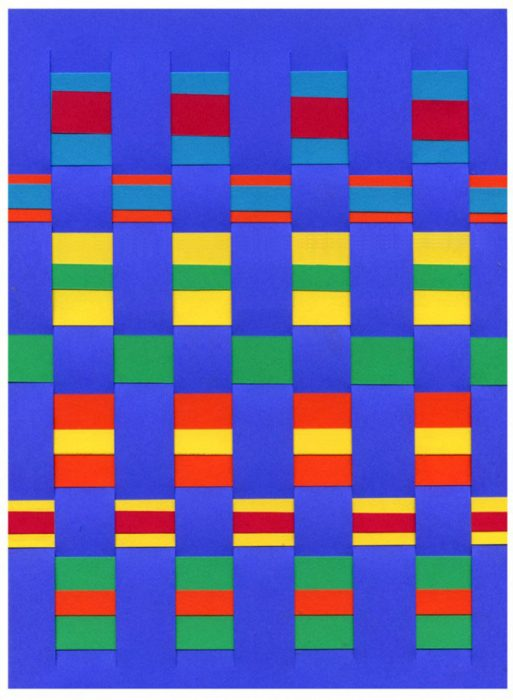 Paper Weaving Art Projects For Kids