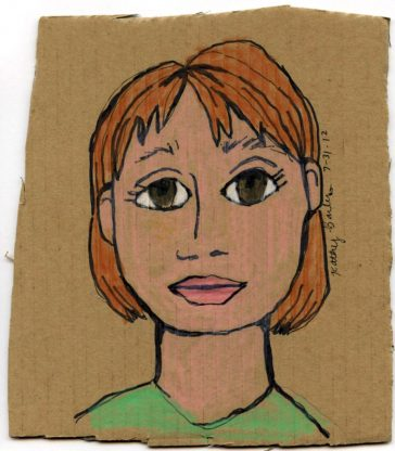 Portraits on Cardboard