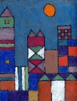 Paul Klee City on Acetate