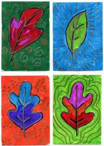 Leaf Art Trading Cards