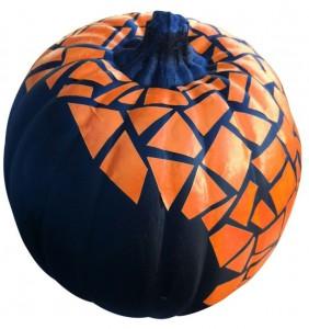 Mosiac pumpkin
