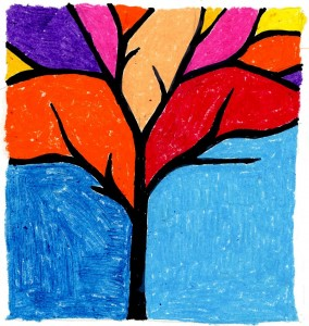 negative space tree