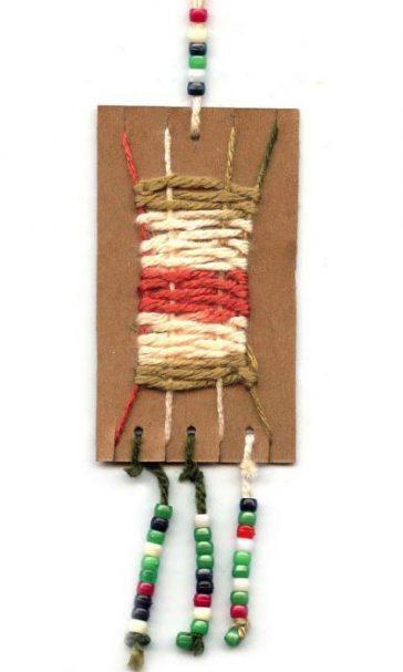 simple weaving for kids