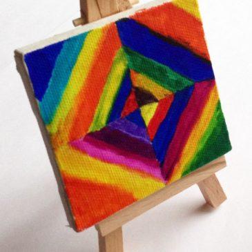 Mini Canvas Kandinsky Diamond Painting