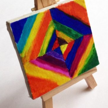abstract art projects for kids