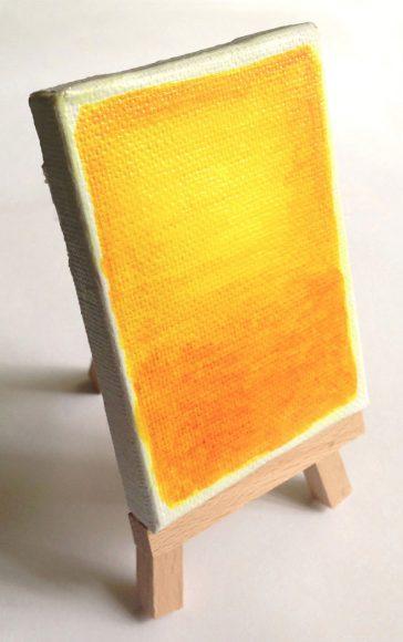 Miniature Rothko Painting