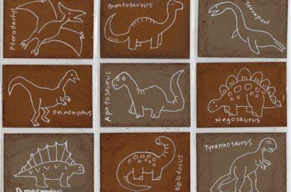 simple dinosaur drawing