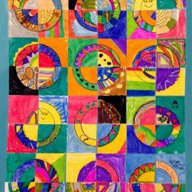 quilt art for kids