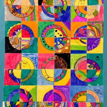 quilt art for kids