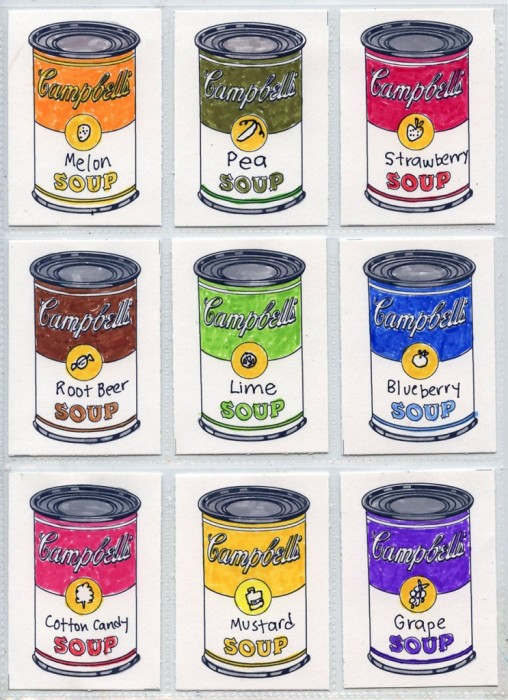 andy warhol children's art projects