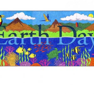 Tropical Earth Day collaborative art project