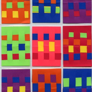 Paper Weaving ATC Cards