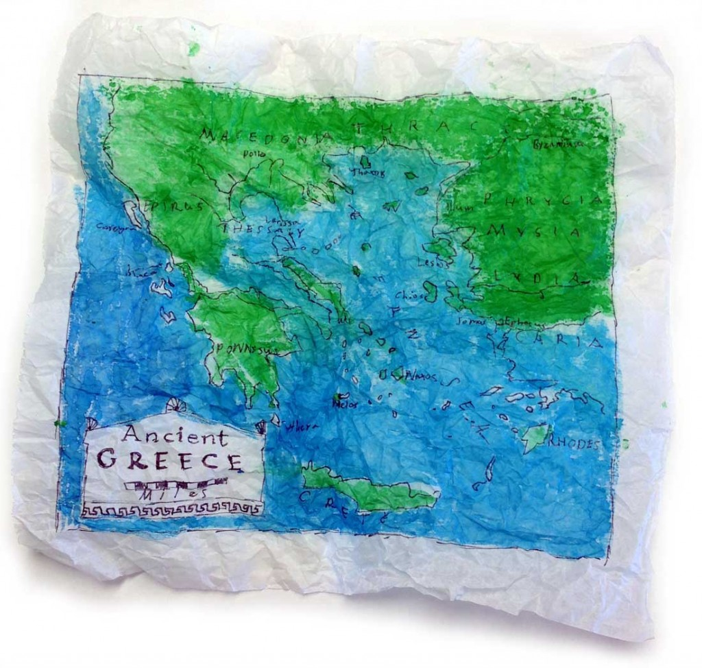 map art projects for kids