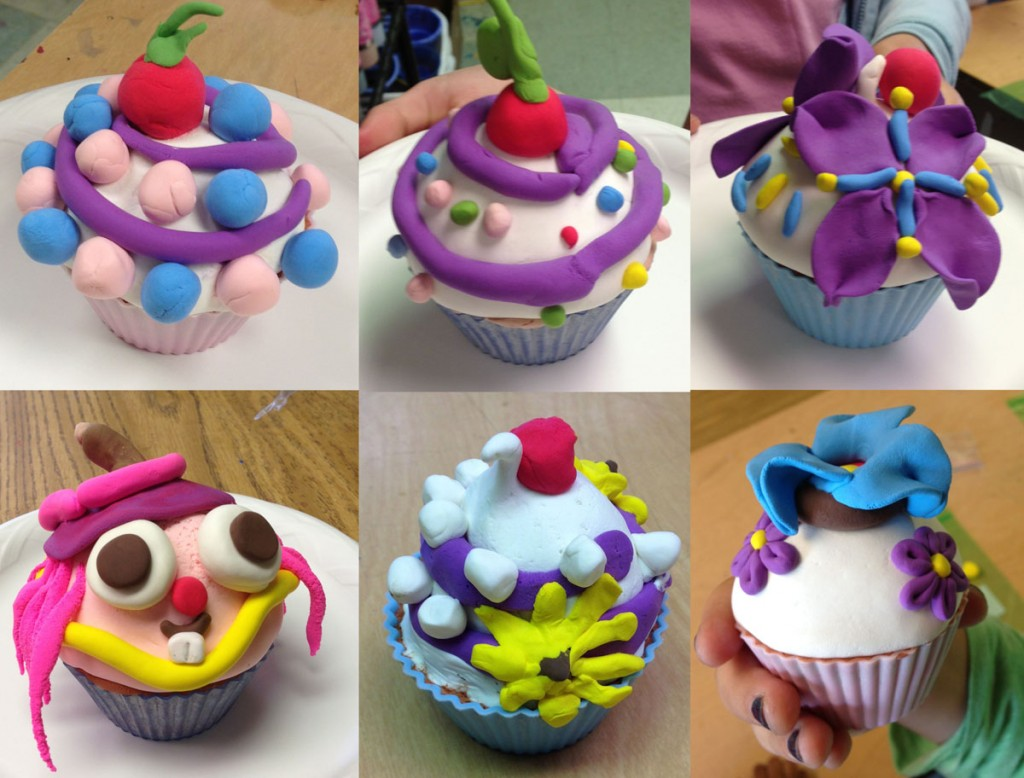 Model Magic Cupcakes Art Projects For Kids