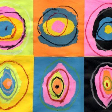 Torn Paper Kandinsky Art