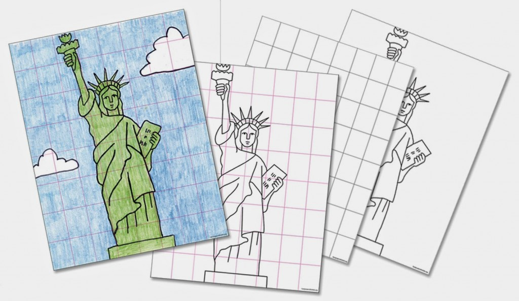Statue Of Liberty For Grades 4 5 Art Projects For Kids
