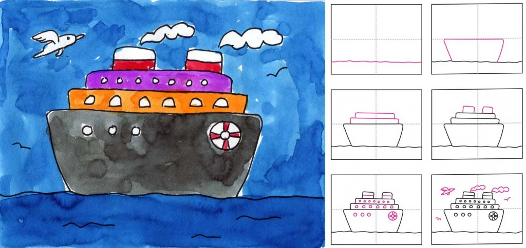 Cruise Ship Art Projects For Kids