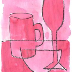 simple still life drawing